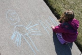 Wordless (almost) Wednesday ~ Sidewalk Chalk
