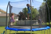 Wordless (almost) Wednesday ~ Trampoline