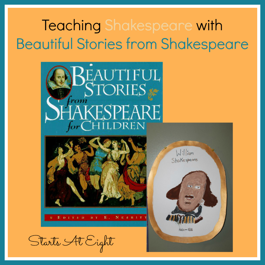 Teaching Shakespeare with Beautiful Stories from Shakespeare from Starts At Eight