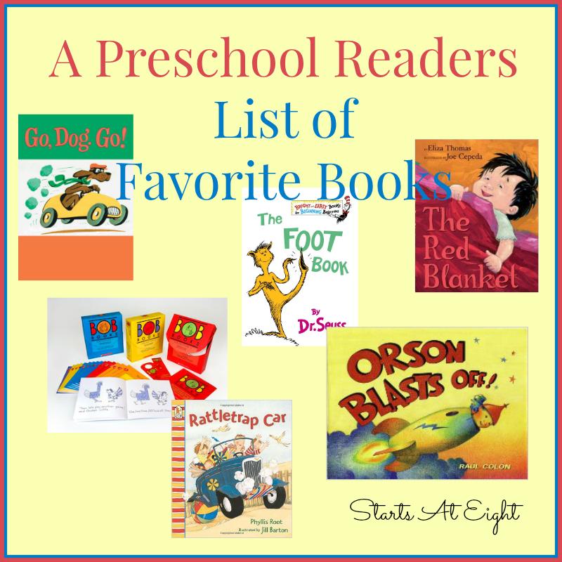 preschool readers list of favorite books startsateight