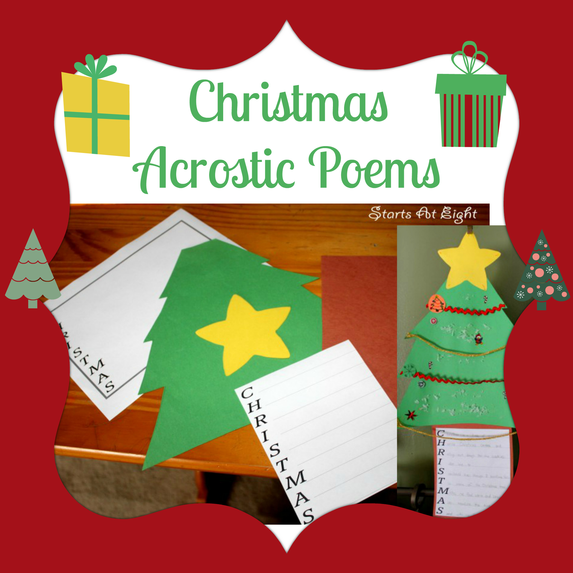 Christmas Acrostic Poems - StartsAtEight