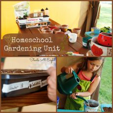 Homeschool Gardening Unit