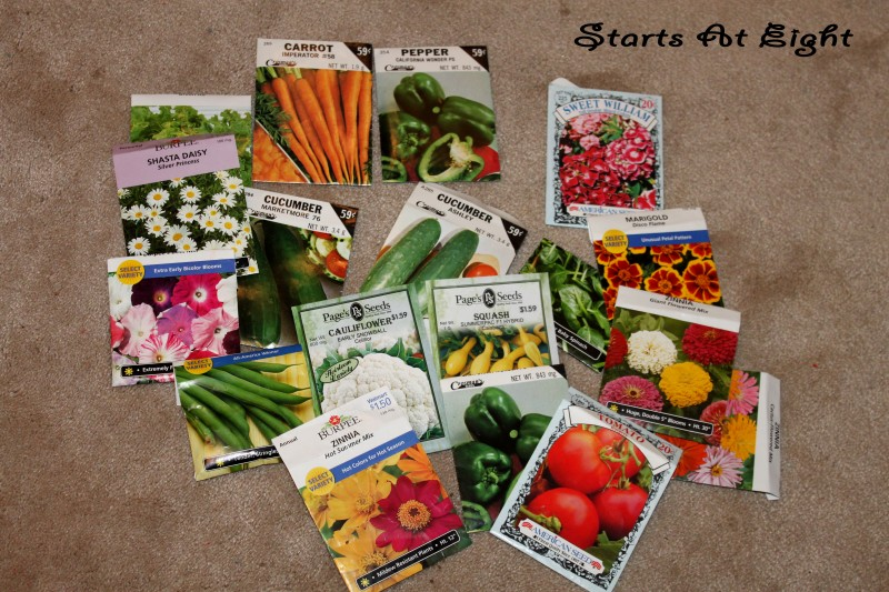 Homeschool Gardening Seeds