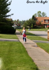 Wordless (Almost) Wednesday ~ Baby on Two Wheels