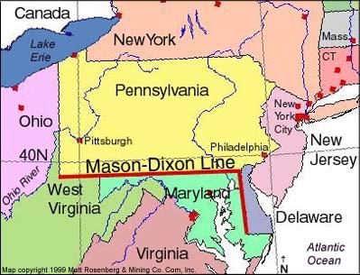 mason dixon line essay