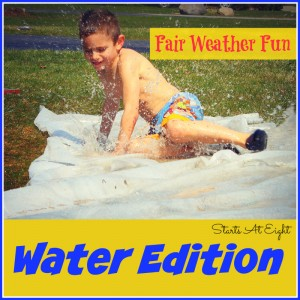 Fair Weather Fun ~ Water Edition from Starts At Eight