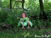 Wordless (almost) Wednesday ~ Ava's Camoflague