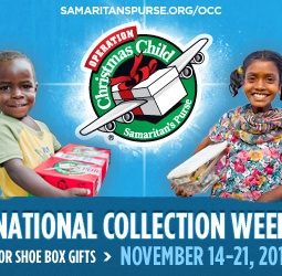 It's Time for Operation Christmas Child