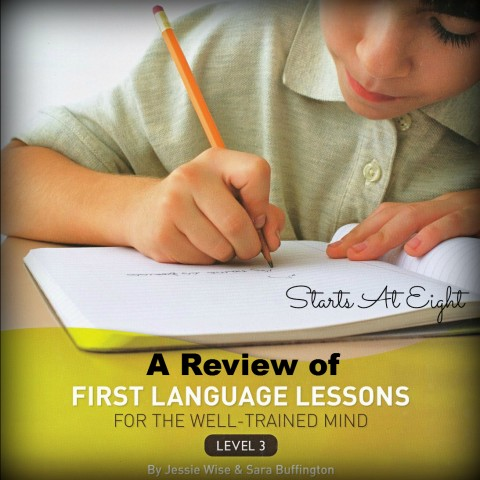 Review of First Language Lessons from Starts At Eight
