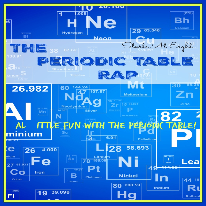 The Periodic Table Rap ~ Fun & Resources for the Periodic Table!