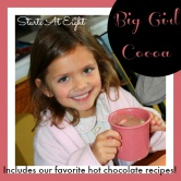 Wordless (almost) Wednesday ~ Big Girl Cocoa