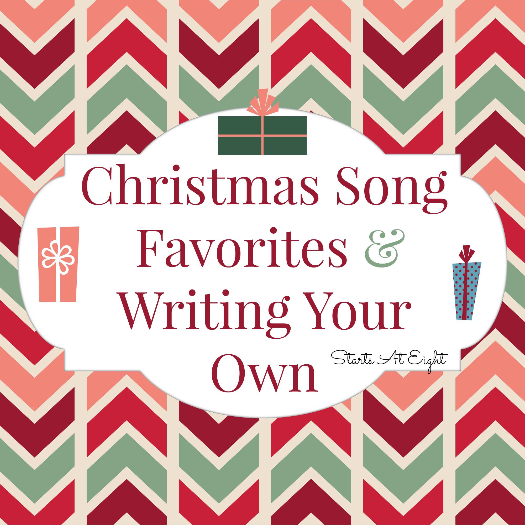 Help writing a christmas song
