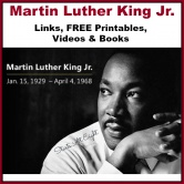 Martin Luther King Jr: Free Printables & More!