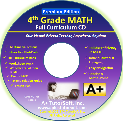 Review of A+ Interactive Math Grade 4 from Starts At Eight