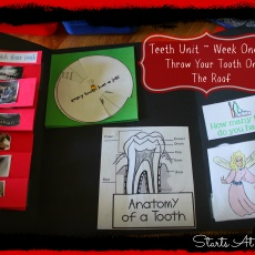 Teeth Unit ~ Week 1 ~ Throw Your Tooth on the Roof