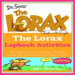 The Lorax Lapbook Activities