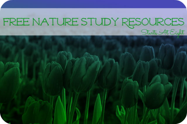 Free Nature Study Resources from StartsAtEight