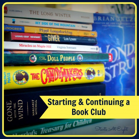 Starting & Continuing a Book Club From StartsAtEight