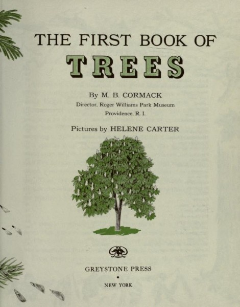 First Book of Trees