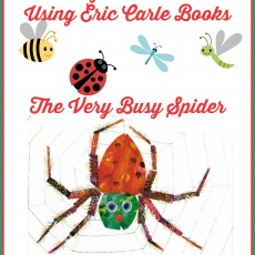 A Bug/Insect Unit Using Eric Carle Books ~ The Very Busy Spider