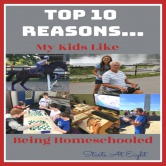 Top 10 Reasons My Kids Like Being Homeschooled