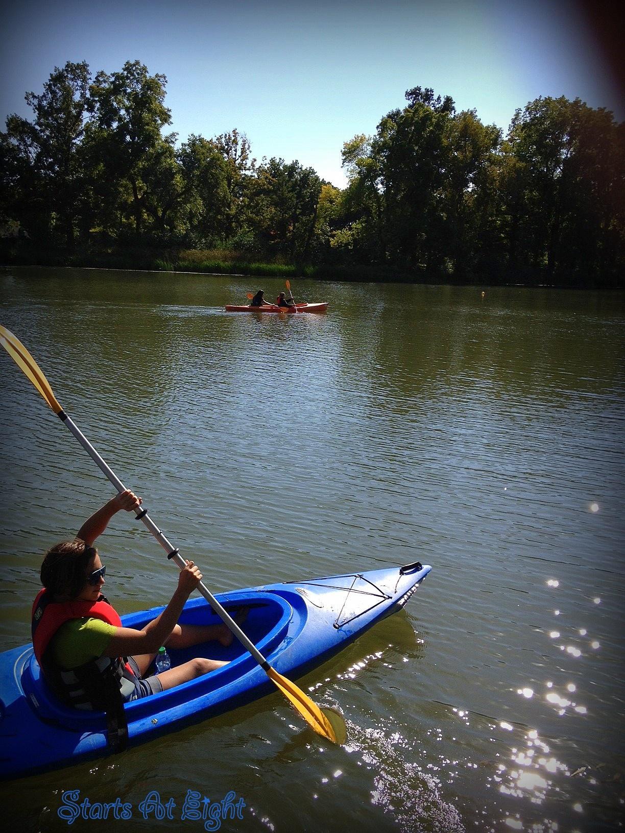 Weekly Wrap-Up ~ Mars & Kayaking ~ 9/21/12