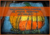 Fall Pumpkin Art Project