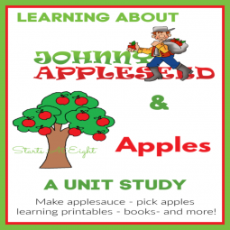 Learning About Johnny Appleseed and Apples Unit Study