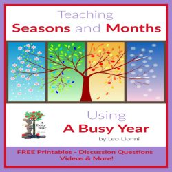 Teaching Seasons and Months Using A Busy Year