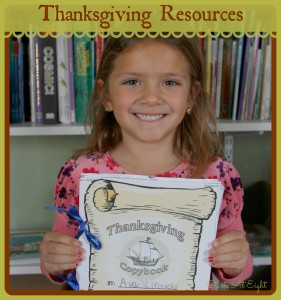 Thanksgiving Resources for Elementary Grades from Starts At Eight