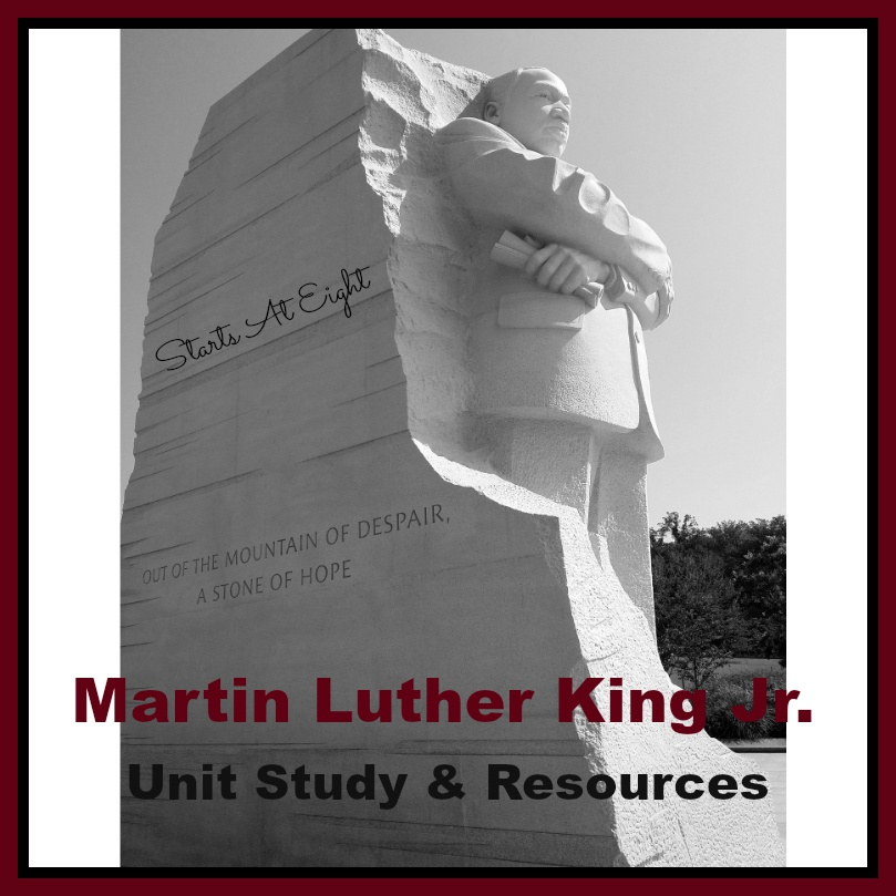 Martin Luther King Jr. Unit Study & Resources