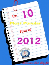 Starts At Eight: Top Ten Most Popular Posts of 2012