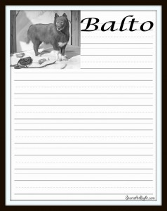 Balto Notebook Page Final