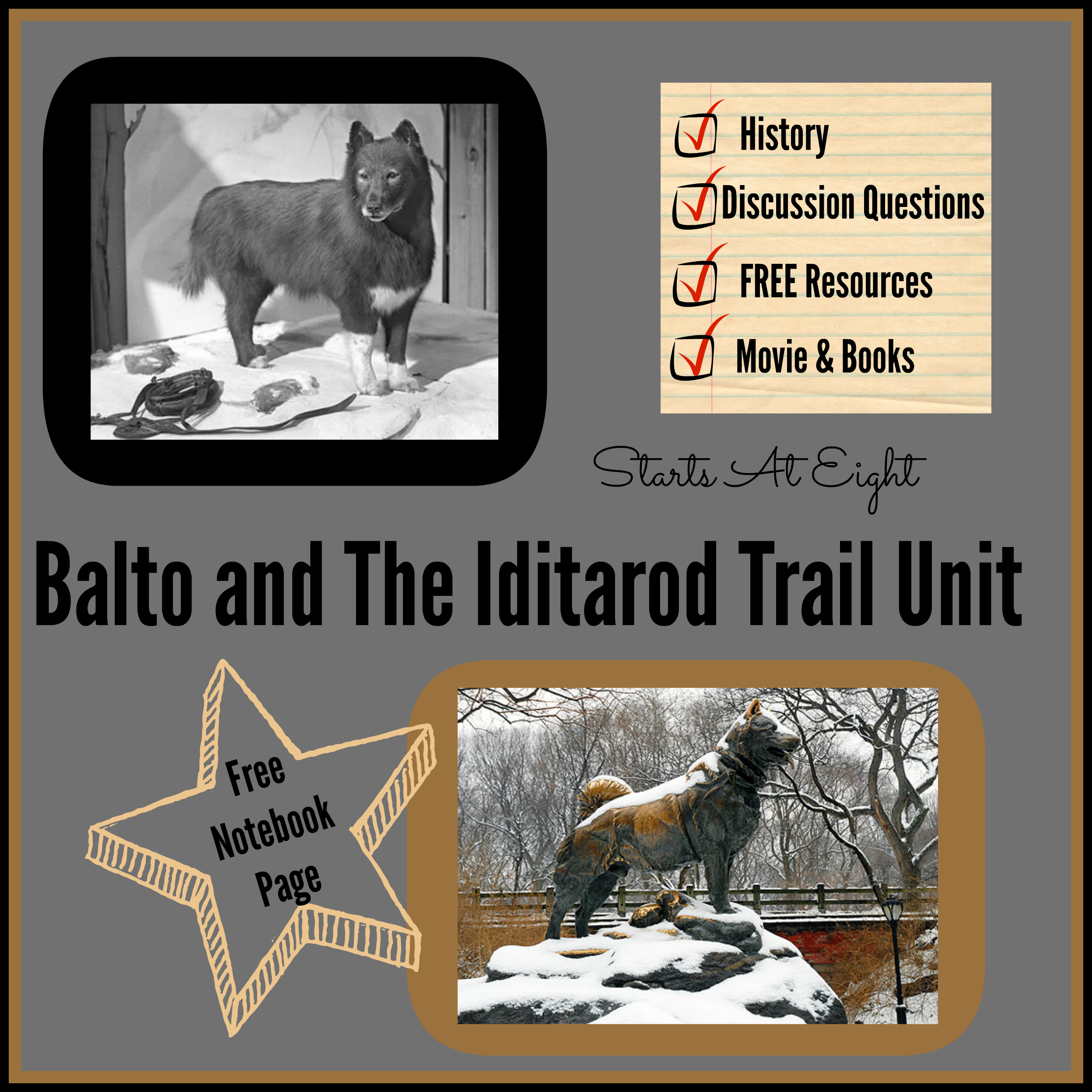 Balto And The Iditarod Trail Unit Includes Free