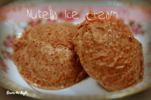 Nutella Ice Cream Recipe