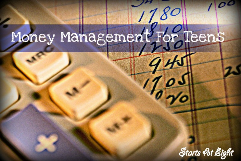 Money Management For Teens from Starts At Eight