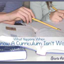 What Happens When…..You Know A Curriculum Isn't Working