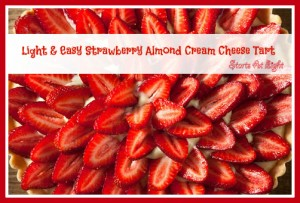 Strawberry Almond Cream Cheese Tart