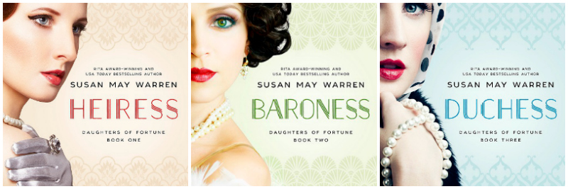 A book review of The Daughters of Fortune trilogy by Susan May Warren