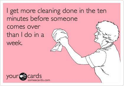 10 Minute Cleaning