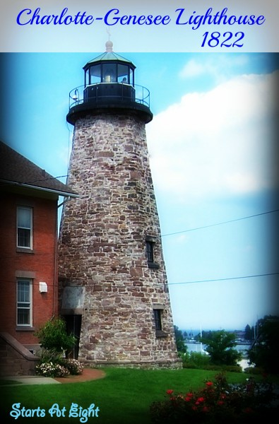 Genesee-Charlotte Lighthouse 1822