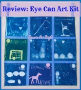 Review & Giveaway: Eye Can Art