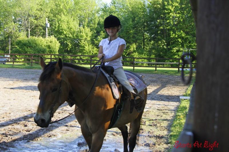 Ava Horseback