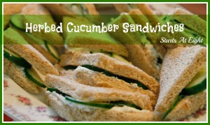 Herbed Cucumber Sandwiches