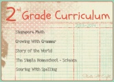 2nd Grade Curriculum ~ 2013-2014