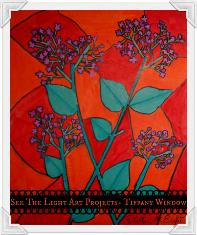 See The Light Art Projects - Tiffany Window from Starts At Eight