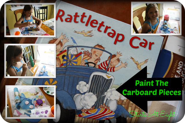 Rattletrap Car Paint Collage