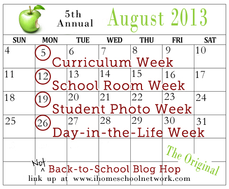 Not Back To School Blog Hop 2013
