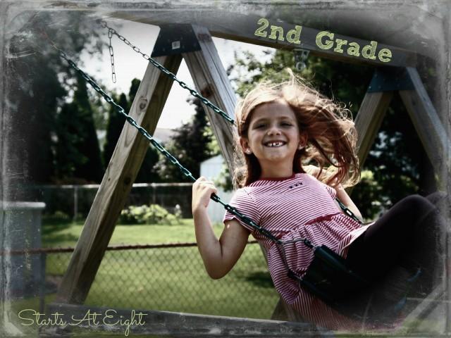 Ava's 2nd Grade Photo