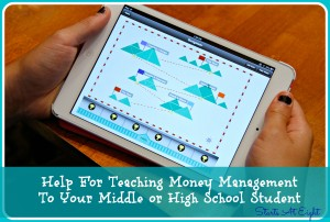 Help For Teaching Money Management To Your Middle or High School Student